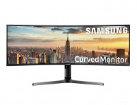 Monitor Gamer Curvo Samsung LC43J890DKLXZX LED 43.4'', 4K Ultra HD, Super Ultra-Wide, HDMI, 2 Bocinas Integradas, Azul/Gris
