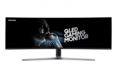 Monitor Gamer Curvo Samsung LC49HG90DMLXZX LED 49'', Full HD, Super Ultra-Wide, 144Hz, HDMI, Negro