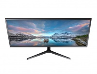 "Monitor Samsung LS34J550WQLXZX LED 34.1"", Quad HD, Ultra-Wide, Free-Sync, 75Hz, HDMI, Negro"