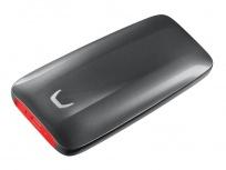 SSD Externo Samsung X5, 1TB, Thunderbolt, Negro/Rojo