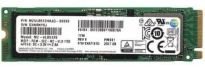 SSD Samsung MZVLB512HAJQ, 512GB, PCI Express 3.0, M.2