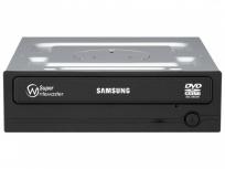 Samsung SH-224DB Quemador de DVD, DVD-R 24x / DVD+RW 8x, SATA, Interno, Negro
