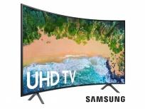 Samsung Smart TV Curva LED UN65NU7300FXZA 64.5