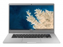 "Laptop Samsung Chromebook 4+ 15.6"" Full HD, Intel Celeron N4000 1.10GHz, 4GB, 64GB, Chrome OS, Plata ― Teclado en Inglés"