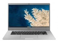 "Laptop Samsung Chromebook 4+ 15.6"" Full HD, Intel Celeron N4000 1.10GHz, 6GB, 64GB, Chrome OS, Plata ― Teclado en Inglés"