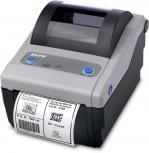 Sato CG208 TT, Impresora de Etiquetas, Térmica Directa/Transferencia Térmica, 203DPI, RS-232, Negro/Gris