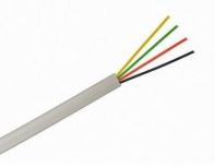 Saxxon Bobina de Cable para Alarma OWA4305JF, 305 Metros, Blanco