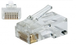 SBE Tech Conector Cat 5e RJ-45, Transparente