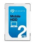 Disco Duro Interno Seagate Mobile 2.5'', 2TB, SATA, 140 MiB/s, 5400RPM, 128MB Cache