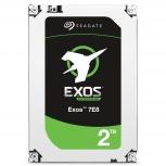 Disco Duro para Servidor Seagate EXOS Enterprise 2TB SAS 7200RPM 3.5