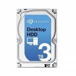 Disco Duro Interno Seagate ST3000DM001 Desktop HDD 3.5'', 3TB, SATA III, 6 Gbit/s, 7200RPM, 64MB Cache - Unidad Solamente
