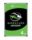 Disco Duro Interno Seagate Barracuda 3.5'', 4TB, SATA III, 6 Gbit/s, 5400RPM, 256MB Cache