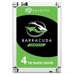 Disco Duro Interno Seagate Barracuda 3.5'', 4TB, SATA III, 6 Gbit/s, 5400RPM, 256MB Caché, 25 Piezas