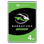 Disco Duro para Laptop Seagate BarraCuda 2.5'', 4TB, SATA III, 5400RPM, 128MB Cache