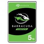 Disco Duro para Laptop Seagate Barracuda 2.5'', 5TB, SATA III, 6Gbit/s, 5400RPM, 128MB Caché