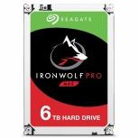 Disco Duro para NAS Seagate IronWolf Pro 3.5'' de 1 a 16 Bahías, 6TB, SATA III, 6 Gbit/s, 7200RPM, 256MB Cache
