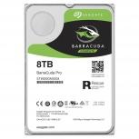 Disco Duro Interno Seagate Barracuda Pro 3.5'', 8TB, SATA III, 6 Gbit/s, 7200RPM, 256MB Cache