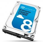 Disco Duro para Servidor Exos Enterprise Seagate 8TB SATA 7200RPM 3.5