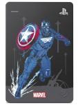Disco Duro Externo Seagate Marvel's Avengers Edición Limitada - Captain America 2.5