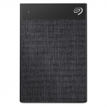 Disco Duro Externo Seagate Backup Plus Ultra Touch, 2TB, USB-C, Negro - para Mac/PC