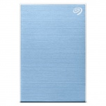 Disco Duro Externo Seagate Backup Plus Slim, 2TB, USB, Azul - para Mac/PC