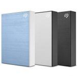 Disco Duro Externo Seagate Backup Plus Portable, 5TB, USB 3.0, Azul - para Mac/PC