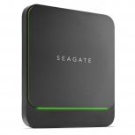 SSD Externo Seagate Barracuda, 500GB, USB C, Negro - para Mac/PC