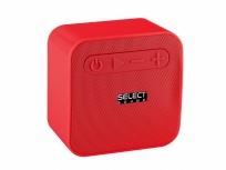 Select Sound Bocina Portátil BT221, Bluetooth, Inalámbrico, 300W RMS, USB, Rojo
