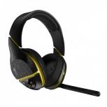 Skullcandy Audífonos Gamer con Micrófono Plyr 2, Inalámbrico, Bluetooth, Negro/Amarillo