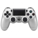 Sony Gamepad Dualshock 4, Inalámbrico, Plata, para PlayStation 4