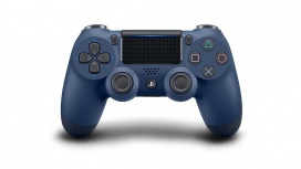 Sony Gamepad DualShock 4, Inalámbrico, Bluetooth, Azul Oscuro, para PlayStation 4