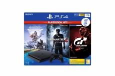 Sony PlayStation 4 Slim 1TB + Horizon Zero Dawn/Uncharted 4/GT Sport 3004132