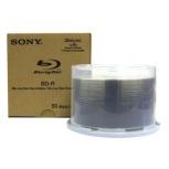 Sony Discos Virgenes para Blu Ray, BD-R, 6x, 50 Discos