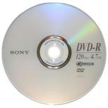 Sony Disco Vírgen para DVD, DVD-R, 16x, 4.7GB, 1 Disco