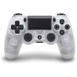 Sony Gamepad DualShock 4, Inalámbrico, Bluetooth, Transparente, para PlayStation 4