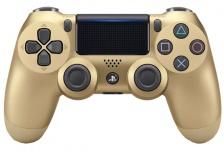Sony Gamepad DualShock 4, Inalámbrico, Bluetooth, Dorado, para PlayStation 4