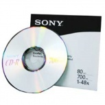 Sony Disco Virgen para CD, CD-R, 48x, 700MB - 1 Pieza