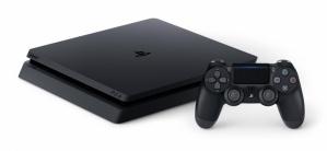 Sony PlayStation 4 Slim, 1TB, WiFi, 1x HDMI, 2x USB 3.0, Negro