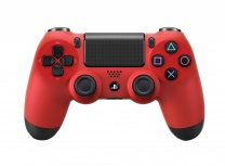 Sony Gamepad DualShock 4, Inalámbrico, Rojo, para PlayStation 4