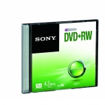Sony Disco Virgen para DVD, DVD+RW, 4.7GB, 1 Disco