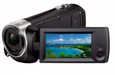 Cámara de Video Sony Handycam CX440 con sensor CMOS Exmor, 9.2MP, Zoom óptico 30x, Negro