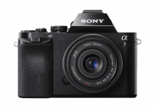 Cámara Sony Alpha α7 con Sensor Exmor CMOS, Cuerpo + Lente 28-70mm