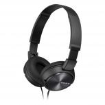 Sony Audífonos MDR-ZX310, Alámbrico, 1.2 Metros, Negro