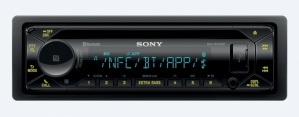 Sony Autoestéreo MEXN5300BT, 220W, AAC/FLAC/MP3/WMA, Bluetooth, Negro