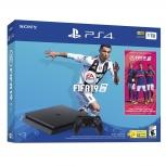 Sony PlayStation 4, 1TB, WiFi, 1x HDMI, 2x USB 3.0, Negro - incluye FIFA 2019