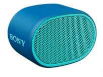Sony Bocina Portátil SRS-XB01, Bluetooth, Inalámbrico, USB, Azul - Resistente al Agua