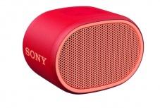 Sony Bocina Portátil SRS-XB01, Bluetooth, Inalámbrico, USB, Rojo - Resistente al Agua