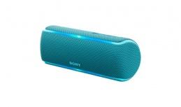Sony Bocina Portátil SRS-XB21, Bluetooth, Inalámbrico, 2.0, USB, Azul - Resistente al Agua