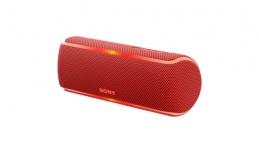 Sony Bocina Portátil SRS-XB21, Bluetooth, Inalámbrico, 2.0, USB, Rojo - Resistente al Agua