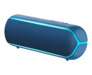 Sony Bocina Portátil XB22, Bluetooth, Inalámbrico, 2.0, USB 2.0, Azul - Resistente al Agua